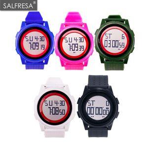 New LED Watch Smart Stopwatch