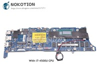 NOKOTION For Dell XPS 12 9Q23 Laptop Motherboard 12.5 inch SR16Z i7 4500U CPU HD4400 VAZA0 LA 9262P CN 03PRHT 03PRHT