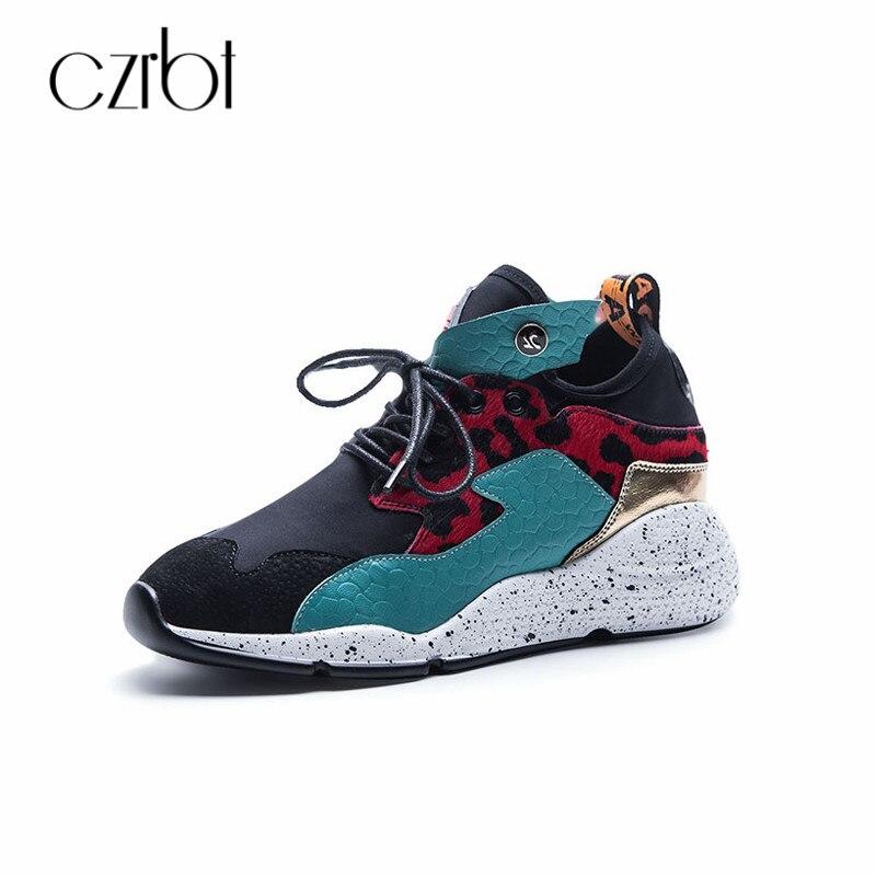 CZRBT Femmes Plate-Forme Sneakers Casual Chaussures 2018 Printemps Automne Dentelle-Up Chaussures Plus La Taille Bande Étroite Respirant Femelle De Mode plat