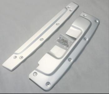 Front + Rear Bumper Diffuser Protector Guard Skid Plate For 10 11 HONDA CRV CR-V 2010 2011 BY EMS