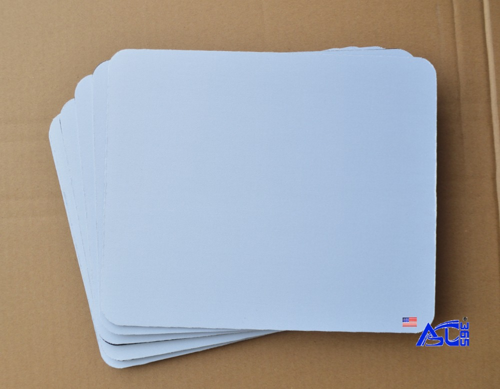 US $152 64 10% OFF|160 pcs Blank Sublimation Mouse Pad Dye INK Transfer  Snow White Top rated coated surface-in Copy Paper from Office & School