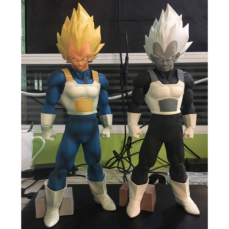 New hot 32cm Anime Dragon Ball Z Vegeta Figurine Super Saiyan SMSP Manga Vegeta PVC action figure Collectible Model Toys 3 style 4pcs new for ball uff bes m18mg noc80b s04g
