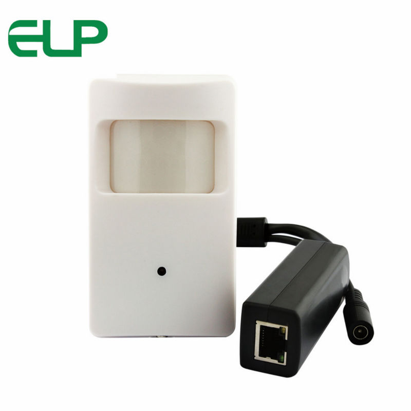 H.264 HD 1mp 720P CCTV surveillance mini micro indoor IP camera for home school white color ELP-IP3100HR-POE elp ip camera 720p indoor outdoor network 1 0mp mini hd cctv security surveillance camera onvif poe h 264