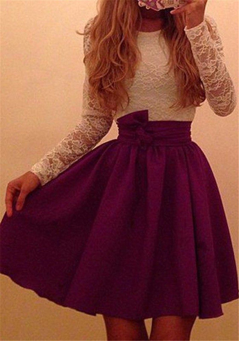 New Ukraine Style Womens Autumn Lace Party Dresses Fall Purple amp Skyblue Sexy Vintage Long Sleeve Casual Dress Plus Size in Dresses from Women 39 s Clothing