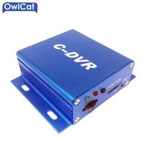 OwlCat Mini CCTV Komórka C DVR Wideo Digital Video Recorder Dla Kamera IP Wsparcie TF Karty SD Detekcja ruchu Wtyk n Play