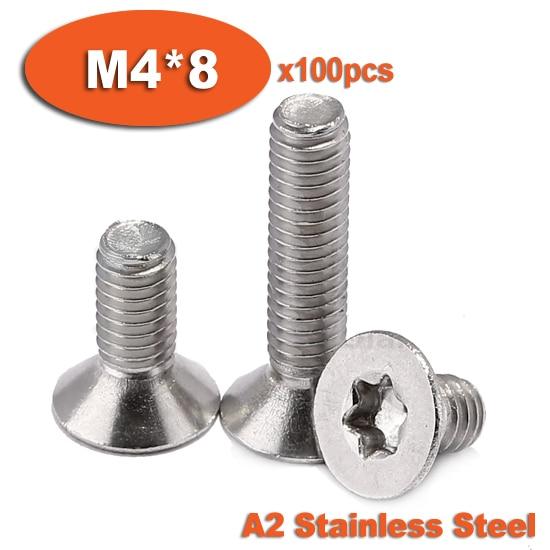 2pcs M6-1 x 120mm Lengthen Hex Socket Head Cap Screws,18-8 Stainless Steel Bolts Full Thread