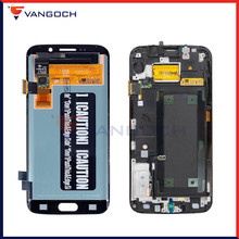 Super Amoled Original Display For Samsung Galaxy S6 Edge G925F LCD Touch Screen Digitizer Assembly Replacement