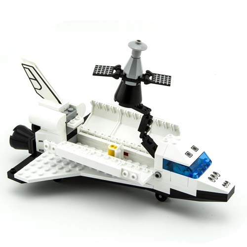 lego space shuttle and plane - photo #23