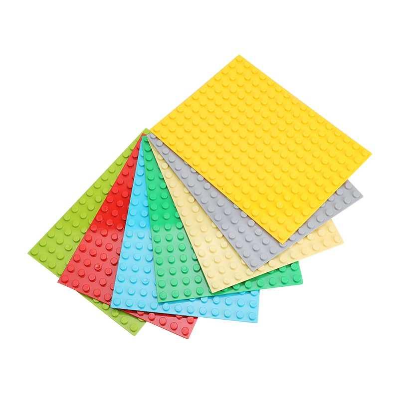 12*16 pontos blocos de tamanho grande placas base tijolos de tijolos compatíveis baseplate diy blocos de construção brinquedos para o presente das crianças
