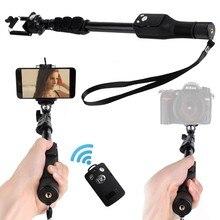 Discount! 1288 Bluetooth Selfie Stick Telescopic Monopod+ Fisheye Macro Wide Angle Phone Lens for VIVO X9s/ X7 / X7 Plus / Xplay6 / Xplay5