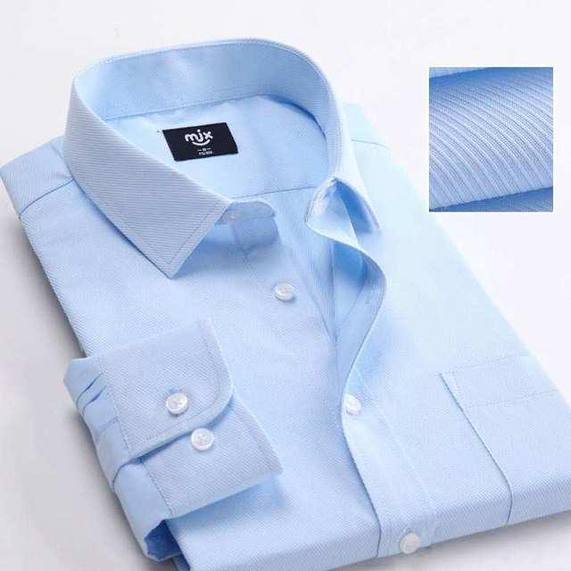 Marca ocasionales de los hombres camisas de algodón de manga larga camisa de vestir de moda blanco negro oficina ropa formal de negocios Sociales Chemise homme