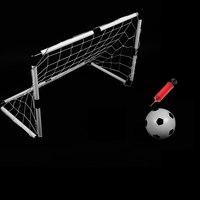 SolidPeg Hook 2 X Goal Nets Soccer Goals 2 Football Gate Mini Soccer Ball Sports