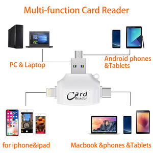 Image 3 - Micro SD TF Card Reader Flash Memory card adapter for Apple iPhone iPad Android Phone MacBook Computer