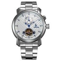 IkสีทองกลวงตนเองลมวิศวกรรมนาฬิกาบุรุษS Aatมัลติฟังก์ชั่อัตโนมัติ