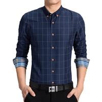 2017 Men New French Cufflinks Shirt Men S Shirt Long Sleeve Casual Male Shirts Slim Fit