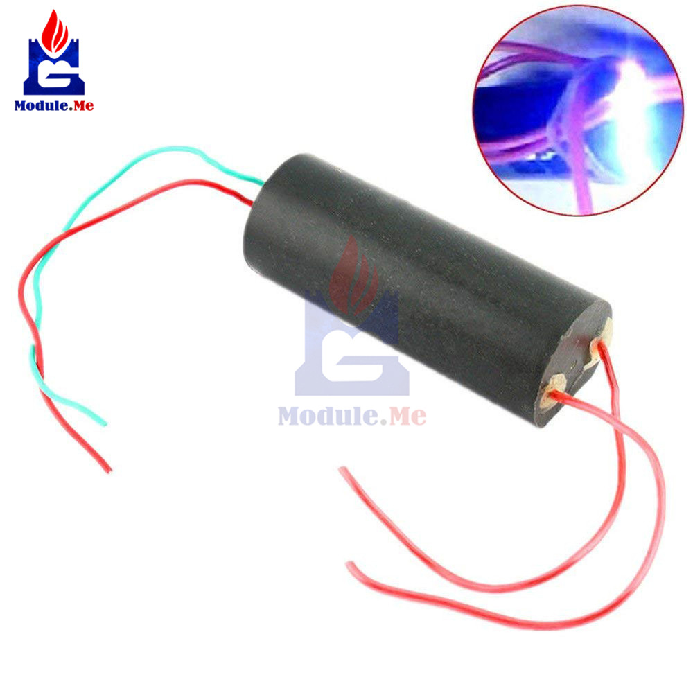 Dc 3-6 v para 400kv impulso step-up alta potência módulo gerador de alta tensão transformador de alta temperatura arco ignição alta frequência
