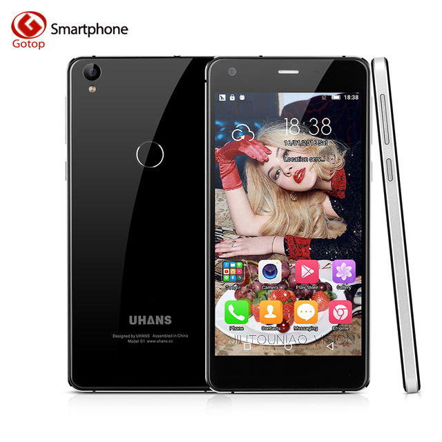 Original UHANS S1 Smartphone 5.0 Inch Android 6.0 MT6753 Octa Core Mobile Phone 3GB RAM 32GB ROM 13MP 4G LTE Unlocked Cell Phone