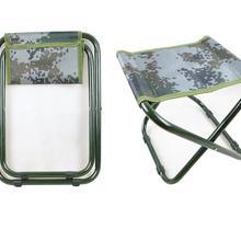 Военные камуфляжные складные маленькие лошади стали на открытом воздухе портативный складной стул для рыбалки