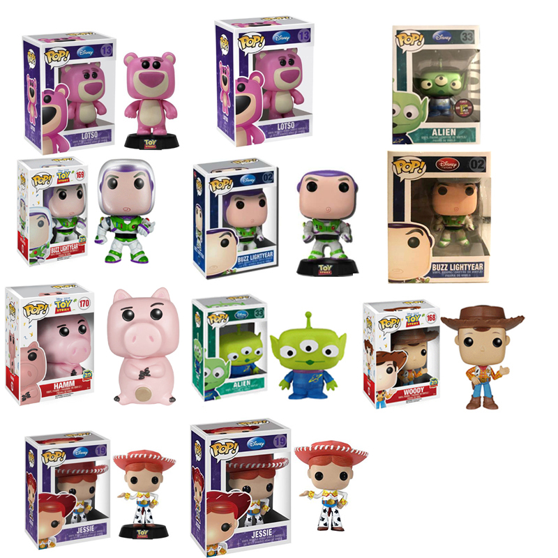 Funko Pop Toy Story Alien Buzz Lightyear Woody Hamm Alien Jessie