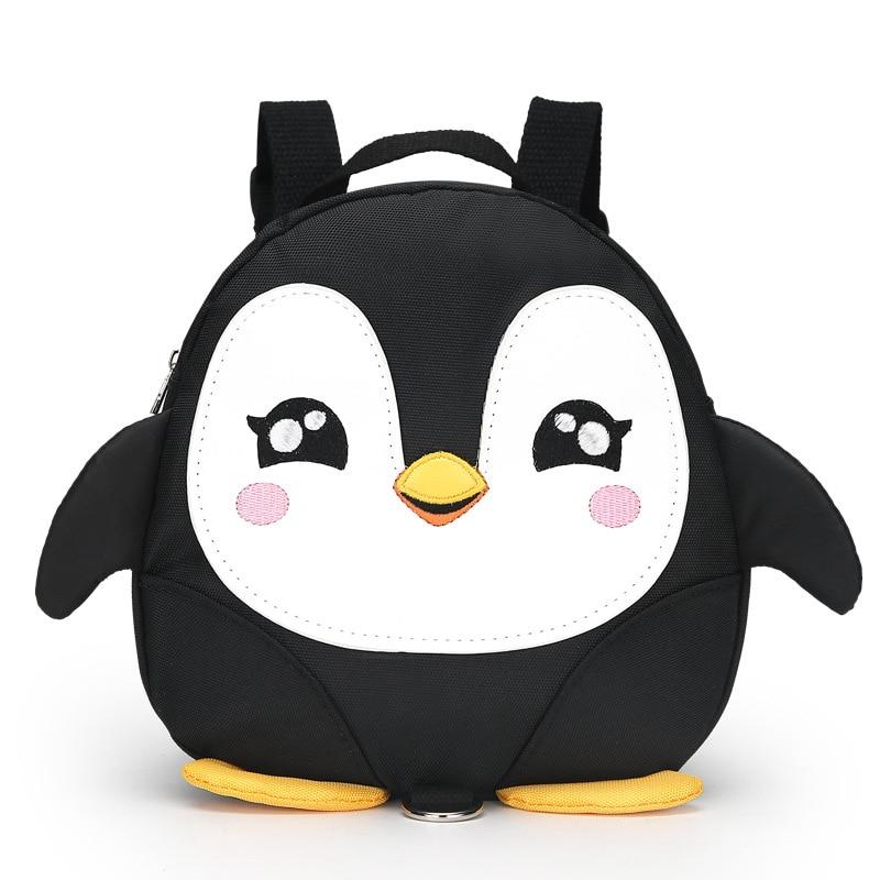 Cartoon Penguin wings anti-lost Toddler backpacks/waterproof kindergarten children school bags/Satchel for boy and girls Mochila