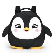 5af49504e85 Cartoon Pinguïn wings anti-verloren Peuter rugzakken/waterdichte  kleuterschool kinderen schooltassen/Satchel voor