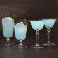 Бесплатная Доставка коктейльные бокалы мартини стеклянный бокал