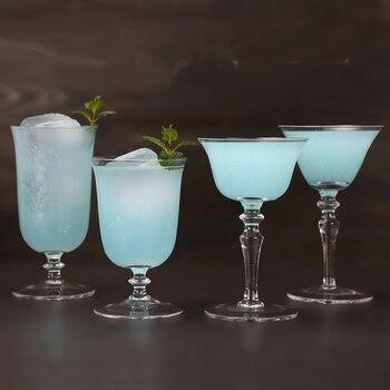 Frete grátis cocktail óculos martini vidro taça