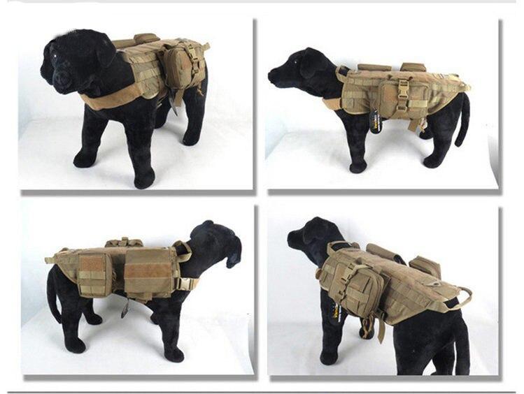 Arnês Do Cão Treinamento K9 polícia Tático