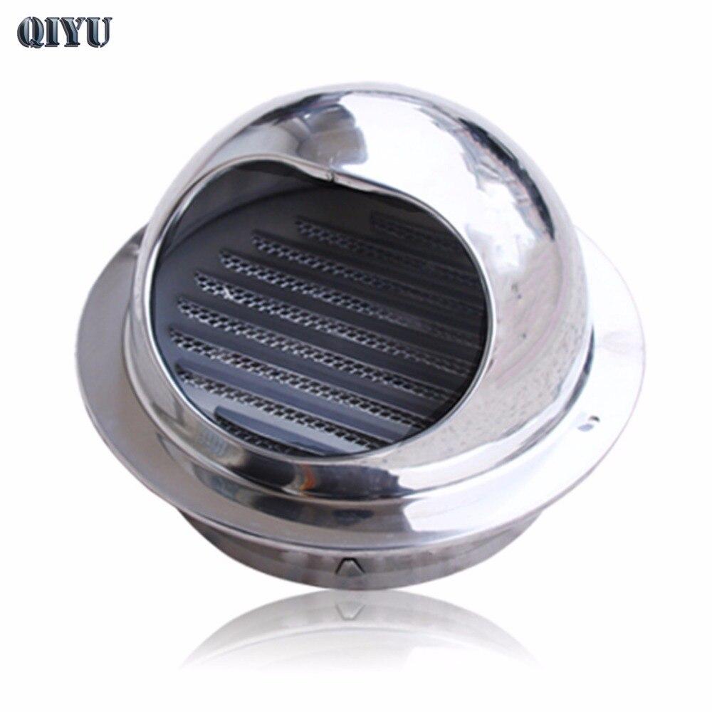 60 mm ~ 300 mm stainless steel exhaust hood, hood external wall vent cap, ventilation cap air ventilation,ventilation fan