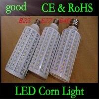 50 шт. E27 B22 E40 30 Вт 5050 Chips165 Свет Мозоли теплый/Белый Лампа Кукуруза Лампы Главная Крытый Открытый уличного освещения DHL доставка
