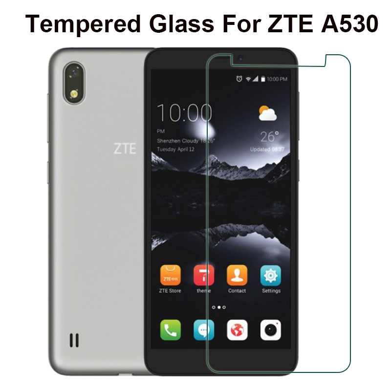 ZTE A530 Glass Tempered Glass ZTE Blade A530 Screen Protective Film Steel LCD For ZTE A530 A 530 Mobile Phone Protector Cover