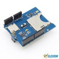 New Module Shield RTC Data Logging Data Logger Shield For Arduino UNO SD Card