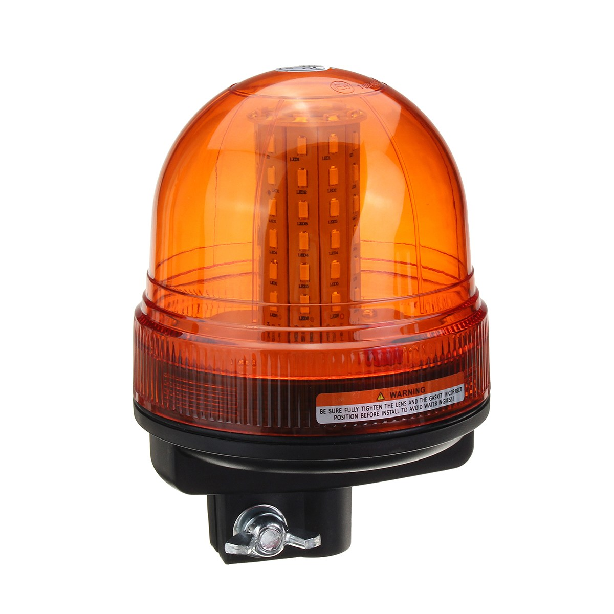 NEW 60 LED Rotating Flashing Amber Beacon Flexible Tractor Warning Light Traffic Light Roadway Safety safurance led rotating flashing amber beacon flexible tractor warning light 12v 24v roadway safety