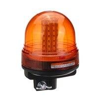 NEW 60 LED Rotating Flashing Amber Beacon Flexible Tractor Warning Light Traffic Light Roadway Safety