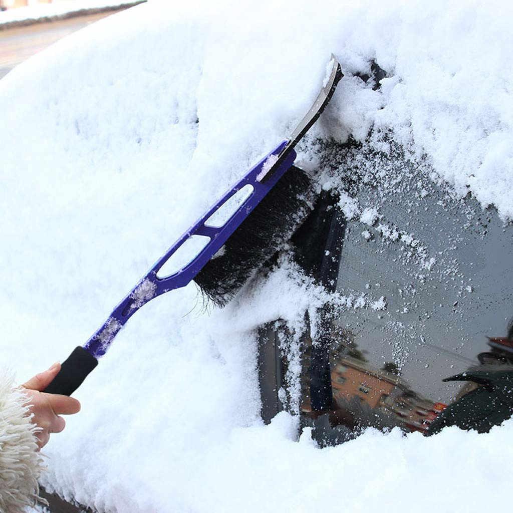 2-в-1 kongyide Снежный лед скребок для лобового стекла автомобиля Авто очистить от льда, Чисти инструменты для автомобиля для чистки стекла зимние Jly10