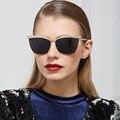 Moda Olho de Gato óculos de Sol Das Mulheres Designer De Marca Nova Decoração De Cristal de Diamante Do Vintage Óculos Gafas de sol Homens MA354