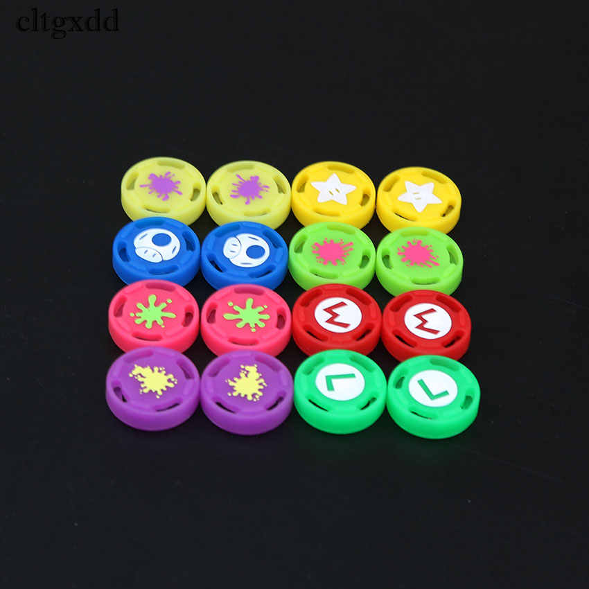 cltgxdd 1PCS Silicone Thumb Grip Stick Caps for Nintendo Switch Joy-Con NS NX Controller Joystick Caps  Game accessories