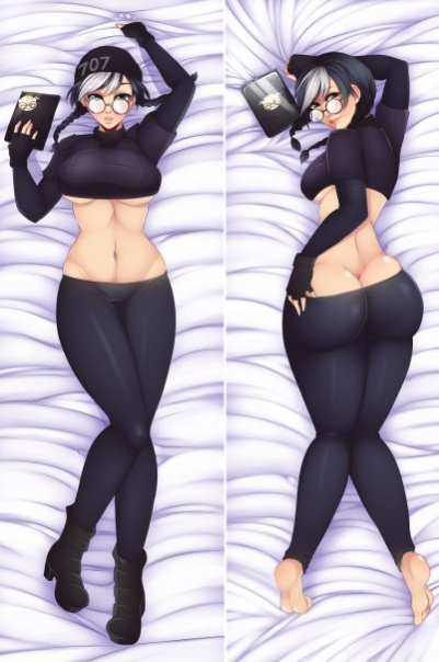 MMF Rainbow Six anime characters sexy girl Dokkaebi pillow