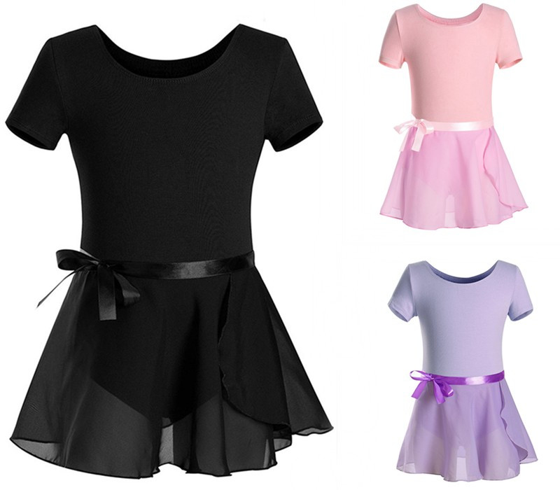 girls'-basic-leotard-gymnastics-font-b-ballet-b-font-dance-costumes-with-wrap-round-skirt