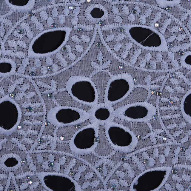 Latest Design African Dry Lace Fabrics High Quality Cotton Lace Fabric Pure White Stones Swiss Voile Lace In Switzerland 1654 1
