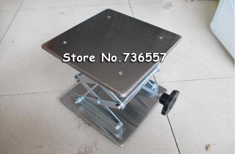 200*200 Small Manual Lab Lift Table Stainless Steel lifting platform 20*20cm 2pcs hdmi 2 0 hd adapter male connector breakout to 19p terminal board no need soldering high quality with housing shell