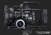 Tilta 19 мм Рог Комплект для RED Scarlet X/EPIC Камера 4*5,65 карбоновый матовый корпус + двойное непрерывное фокусирование + Базовая плата + клетка + V lcok