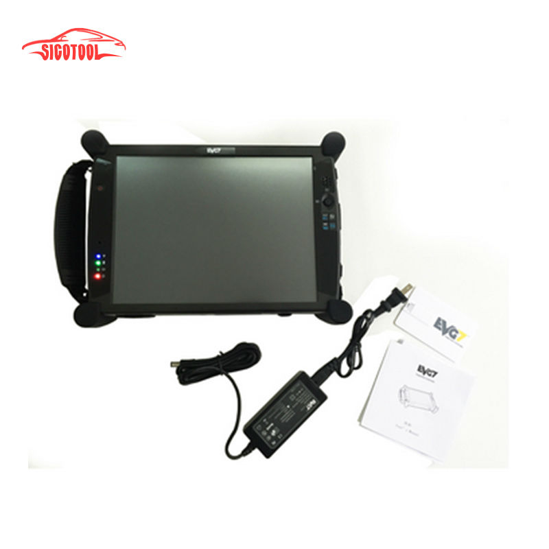 Hot selling EVG7 DL46/HDD500GB/DDR4GB Diagnostic Controller Tablet PC (Can works with BMW ICOM)