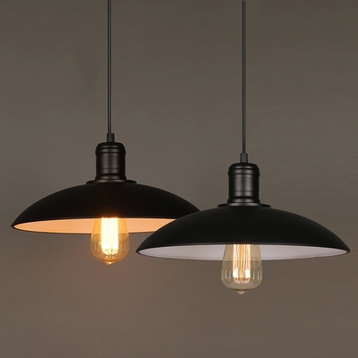American Loft Style Iron Droplight Retro Pendant Light Fixtures For Dining Room Hanging Lamp Vintage Industrial Lighting retro loft style iron cage droplight industrial edison vintage pendant lamps dining room hanging light fixtures indoor lighting