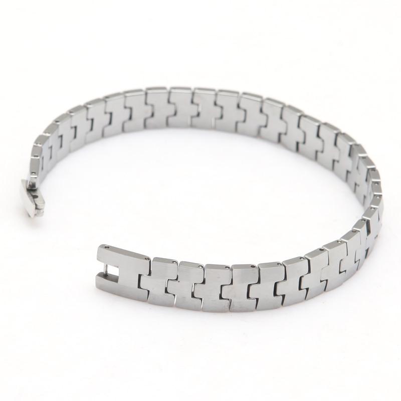tungsten carbide bracelet Made Of Tungsten Special Man's Best Gift Length 22cm Width 1.0cm Thickness 3mm Weight 74g