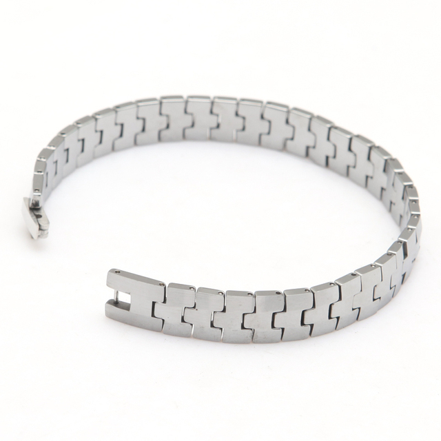 tungsten carbide bracelet Made Of Tungsten Special Man's Best Gift Length 22cm Width 1.0cm Thickness 3mm Weight 74g