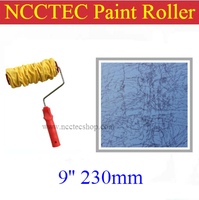 9 Suede Fabric Paint Roller For Water Based Metal Paint FREE Shipping 230mm Sheepskin Artist Coating