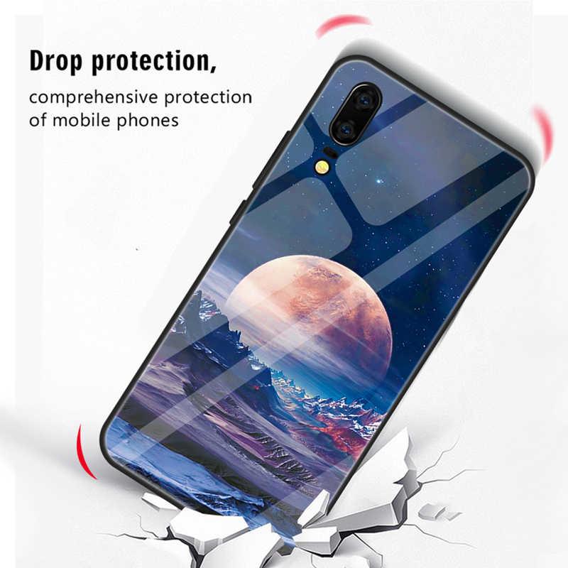 Чехол из закаленного стекла для huawei Nova 3 3i P20 Lite P20 Pro Heart Couple, чехлы для телефонов с силиконовой рамкой, глянцевый чехол для смартфона