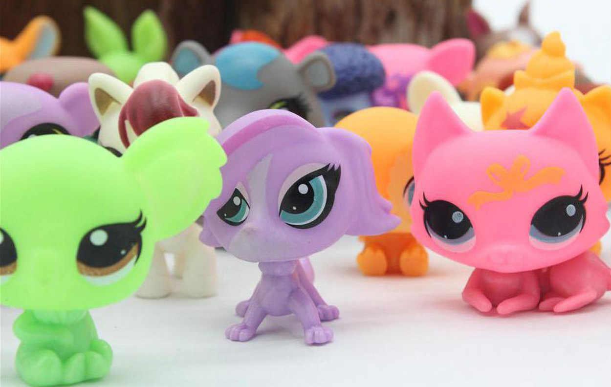 Chanycore saco BONITO BONECA modelo de Brinquedo lps 20 Pçs/saco Pequeno Animal de Estimação loja Mini Toy Animal Gato patrulla canina cão brinquedos para crianças