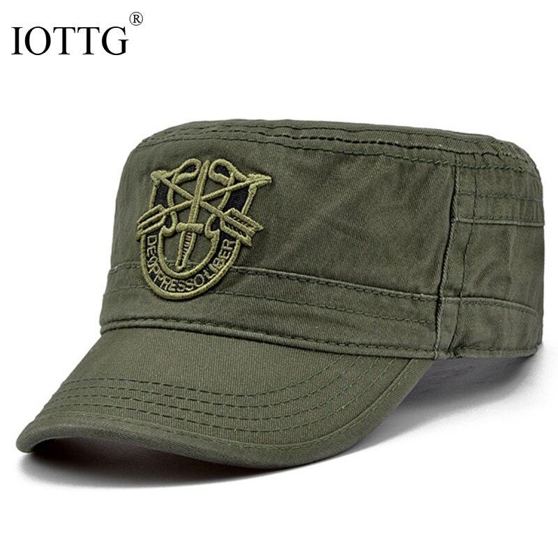 все цены на IOTTG 2017 Camouflage Classic Service Army Backpack Hat Marine Corps Camouflage Baseball Cap Sun Hat Patrol Casquette Flat Hat онлайн